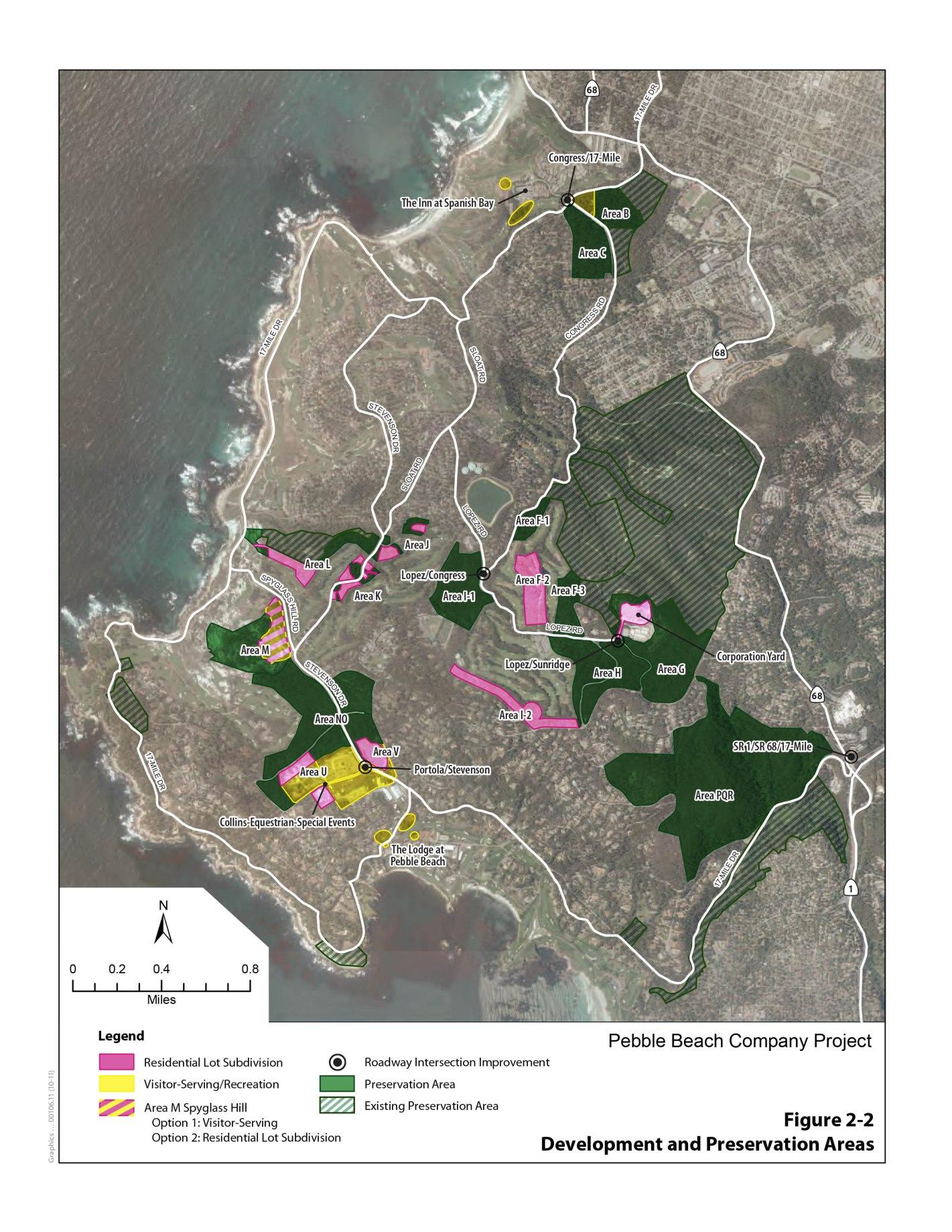 Site Plan Fig 2-2 of EIR
